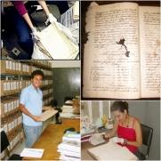 Pesquisa em arquivos de Vitória da Conquista