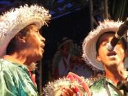 Apresentação de Terno de Reis no festejos do Natal da Cidade, em Vitória da Conquista.
