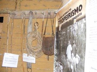 Rancho do Tropeiro, montado na Vila da Conquista, durante os festejos do Forró Pé de Serra do Periperi, organizado pela Prefeitura Municipal de Vitória da Conquista, em 2010.