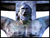 Cristo, no alto da Serra do Periperi em Vitória da Conquista, obra do artista Mário Cravo