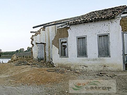 Zona rural de Vitória da Conquista, região de São Domingos. Destaque para a casa que pertenceu a Bruno Bacelar de Oliveira.