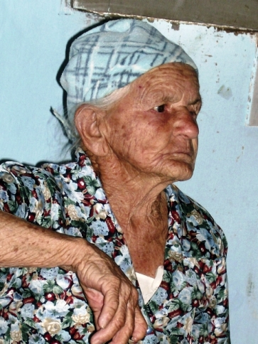 Dona Maria Madalena, que residia na Fazenda São Domingos, zona rural de Vitória da Conquista.