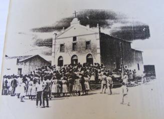 Foto da antiga Igreja Matriz de Anagé - Bahia